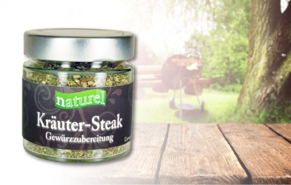 Kräuter-Steak Gewürzzubereitung 60g